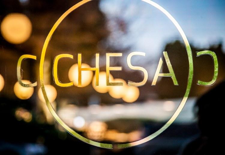 The Front Door of Chesa