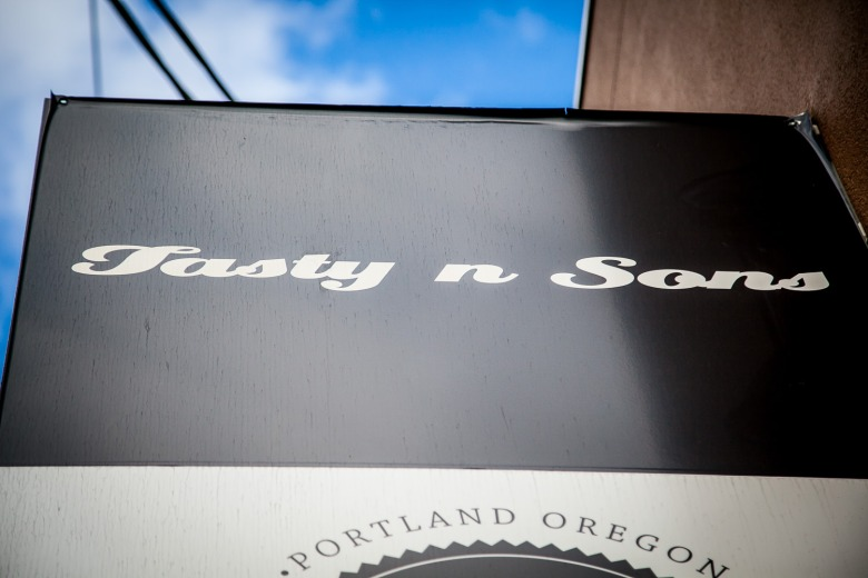 Tasty N Sons, What to Look for Outside