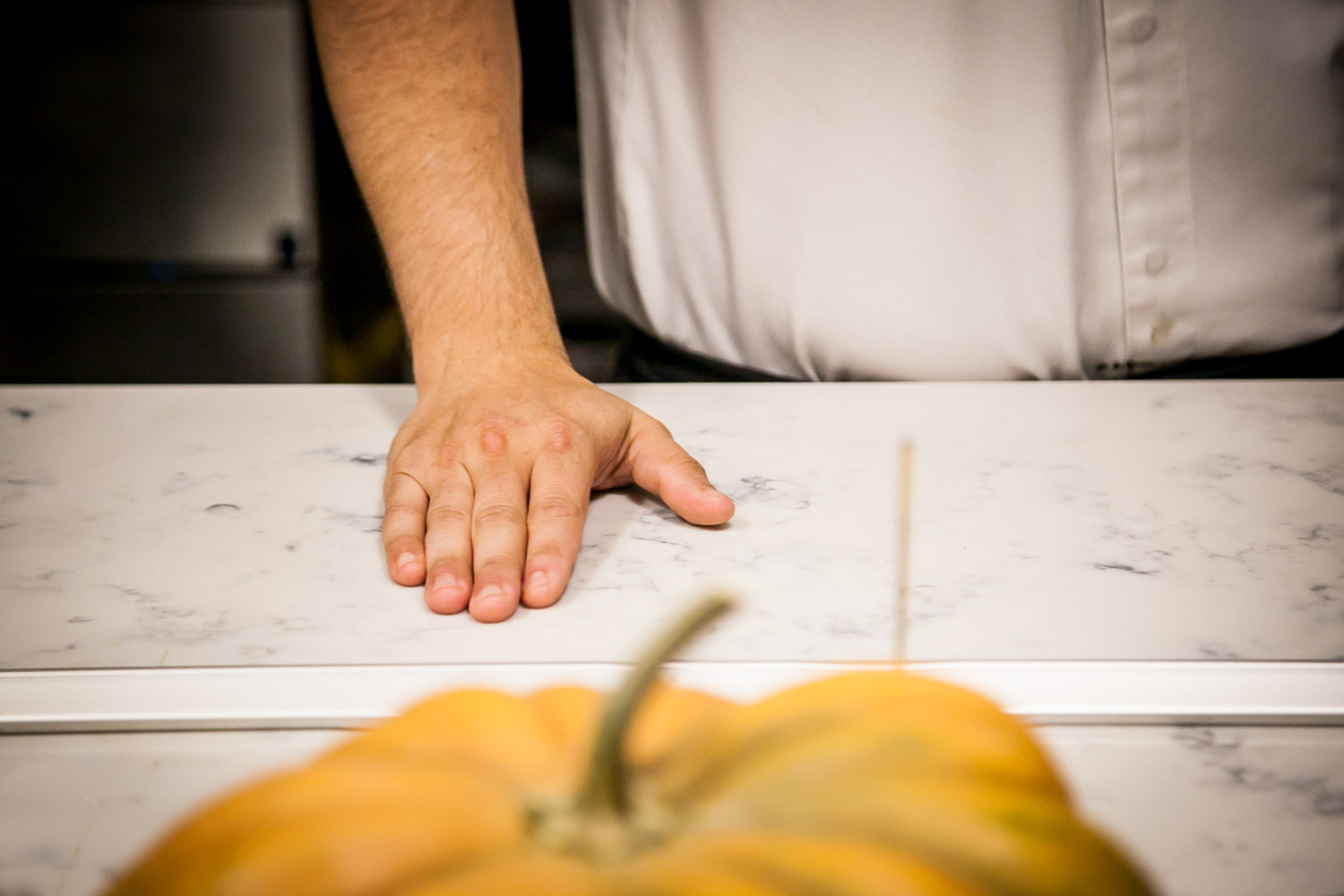 Spotless. Hands of Chef José Chesa