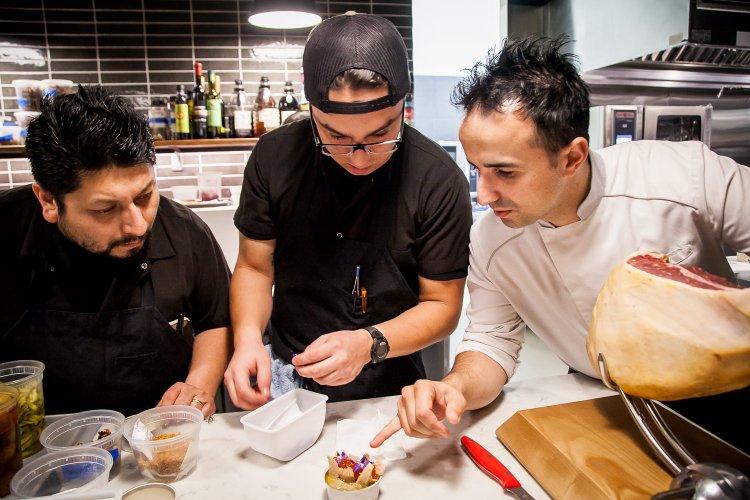Chef José Chesa and Team at Chesa
