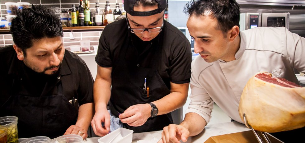 Chef José Chesa and Team at Chesa