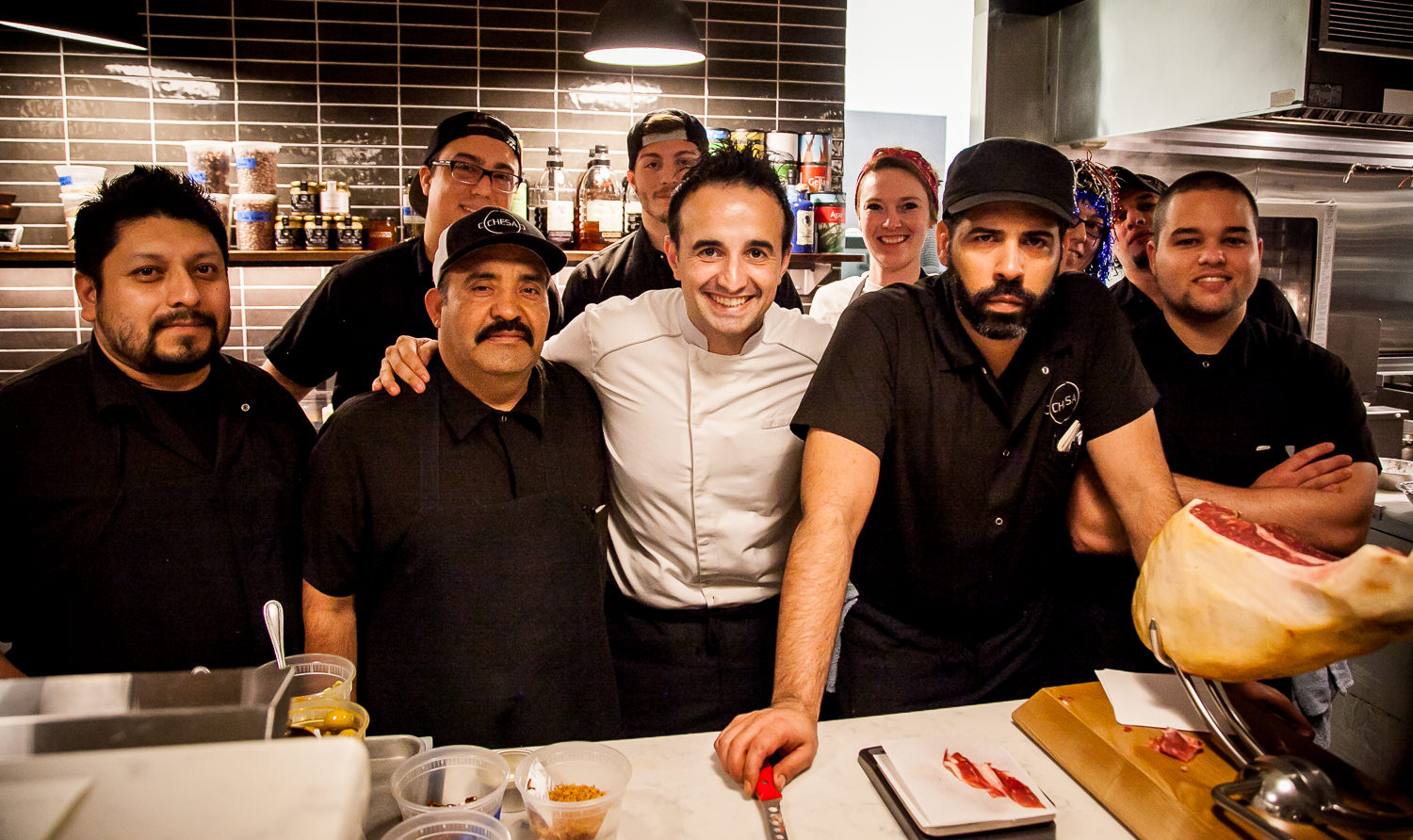Chef José Chesa & Team