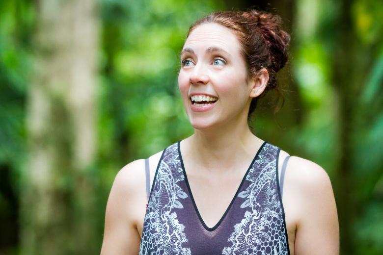 Brandy Shearer Hiking in Costa Rica