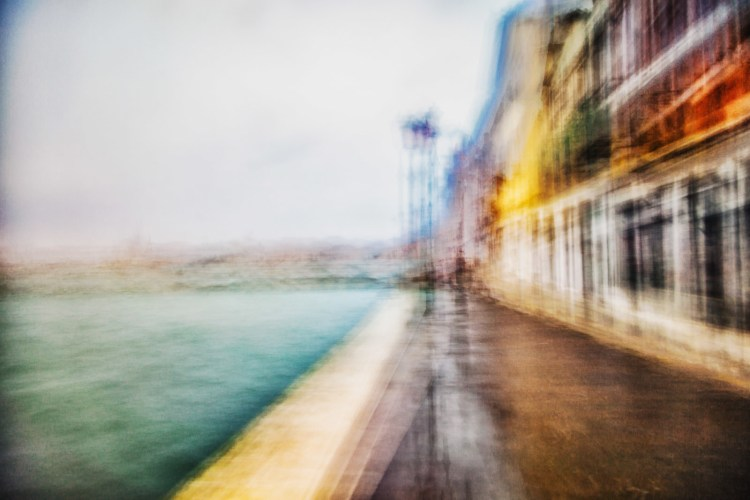 Slow Stroll on Giudecca by Paolo Ferraris