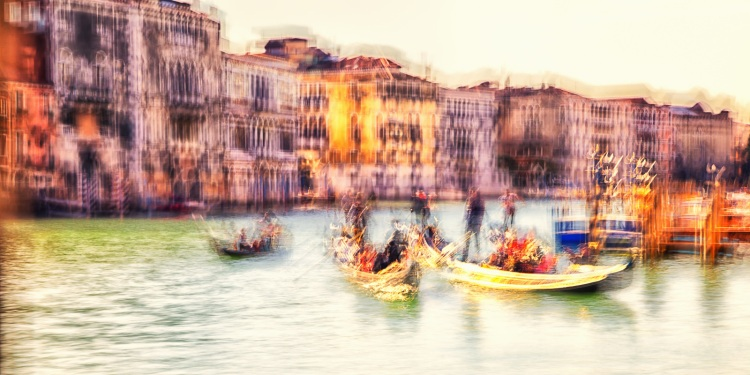 The Gold of Canal Grande by Paolo Ferraris