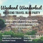 weekendwanderlusttravelblogparty
