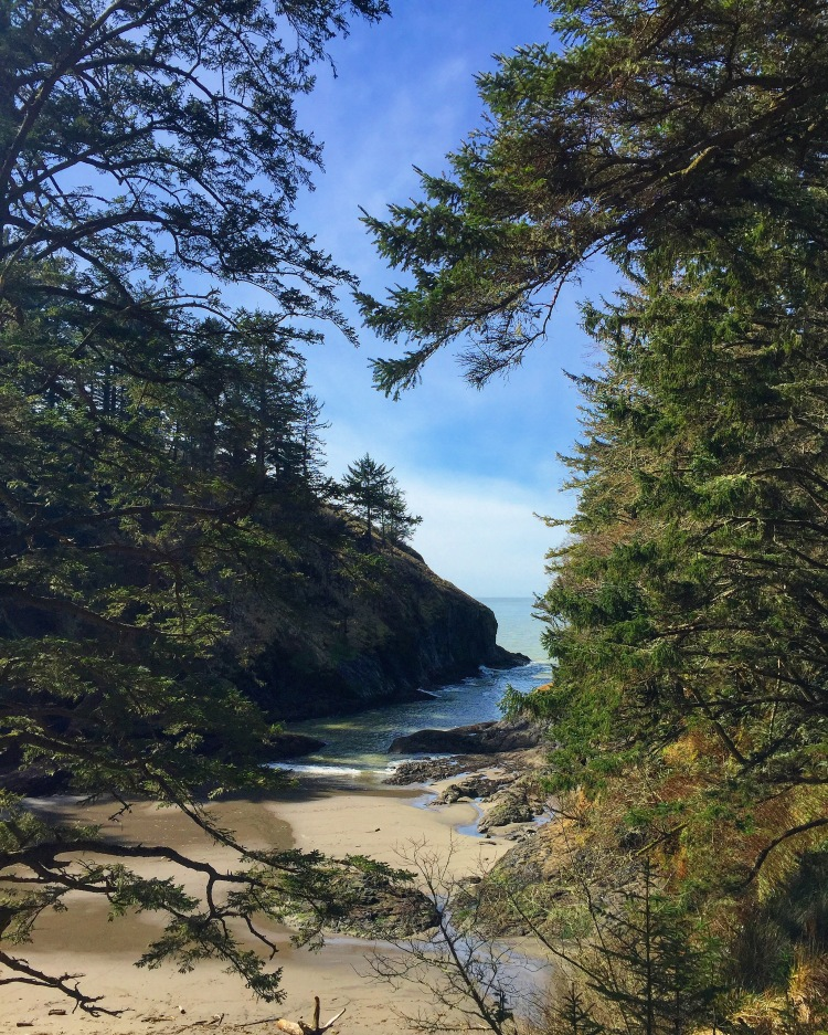 Cape Disappointment Hidden Beach