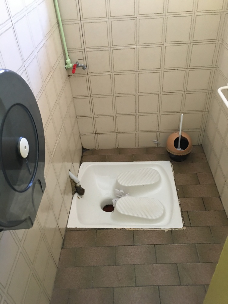 Bathroom Sans Toilet in Italy
