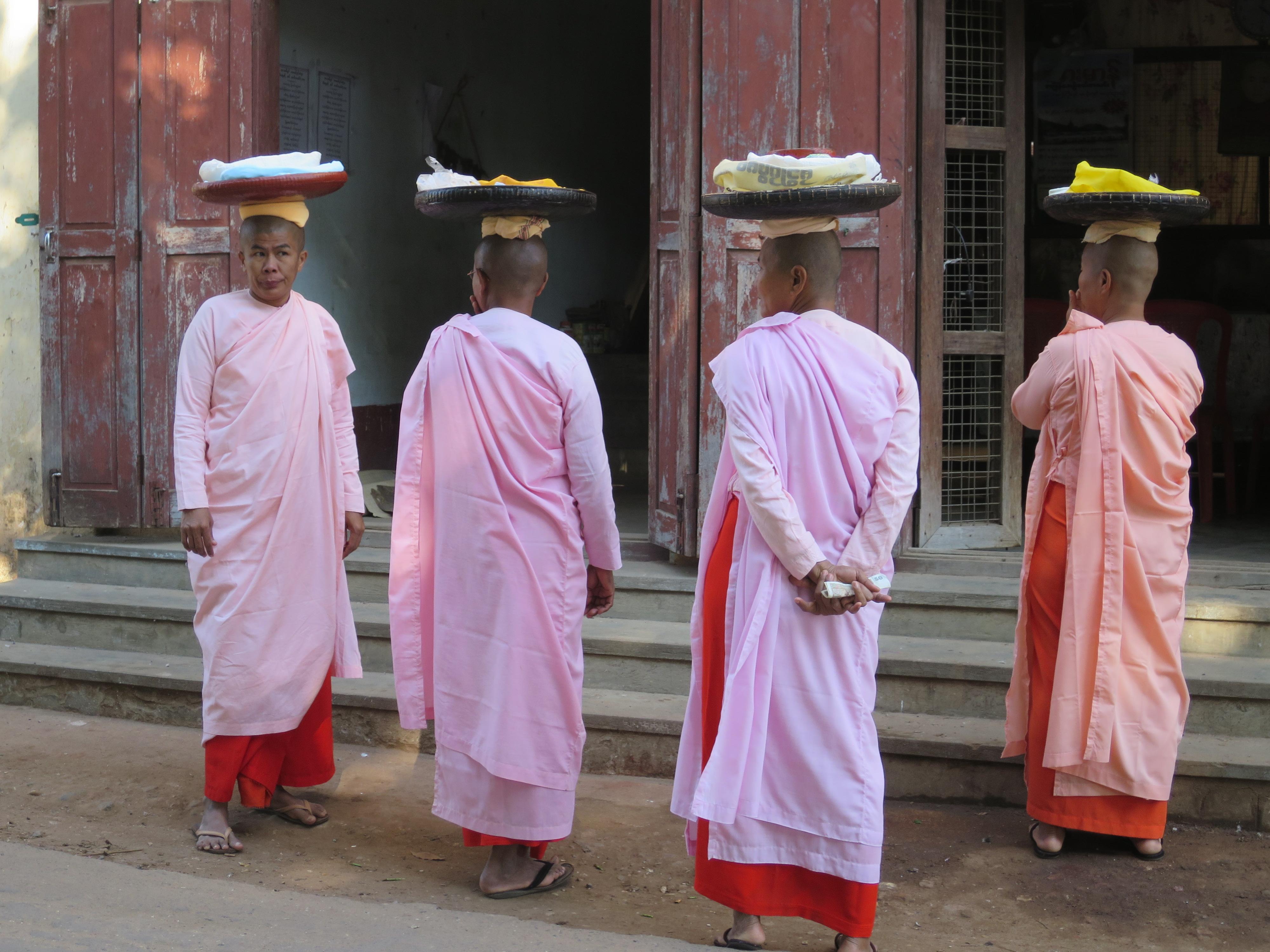 Female Monks in Myanmar