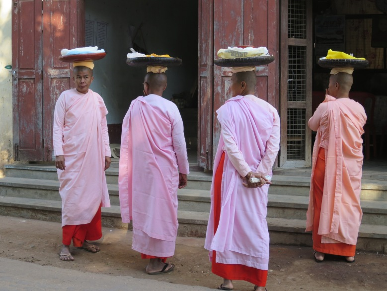 Female Monks in Myanmar