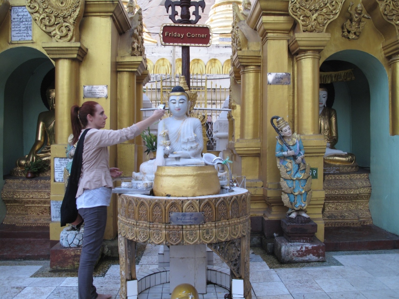 Brandy Shearer in Myanmar