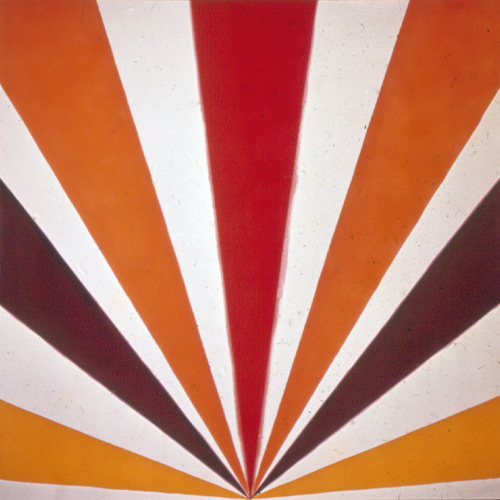 Kenneth Noland Cadmium Radiance, 1963