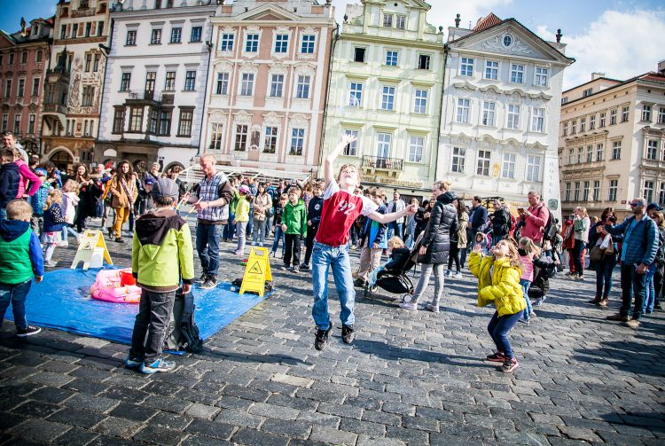 Leaping for Bubbles in Prague