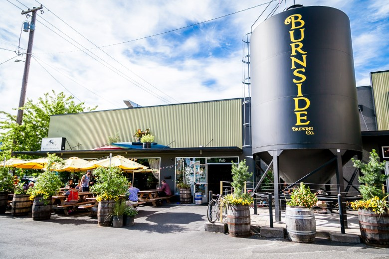 Portland Fruit Beer Media Preview was held at Burnside Brewery