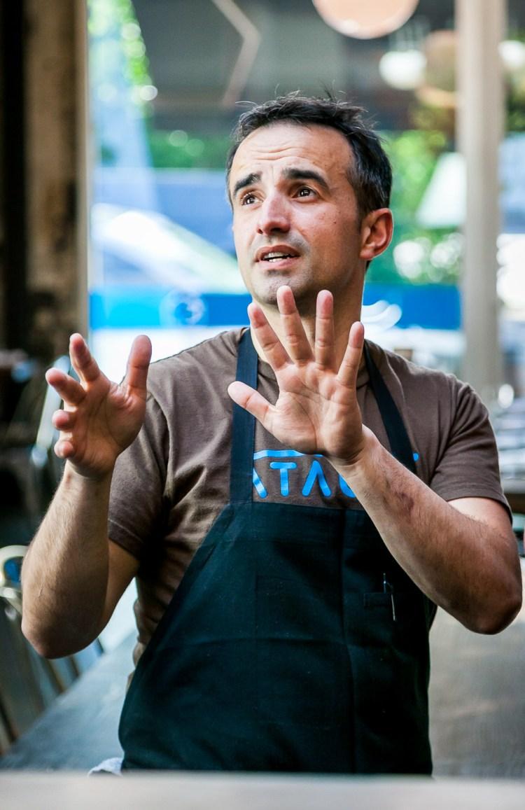 Chef José Chesa, Ataula