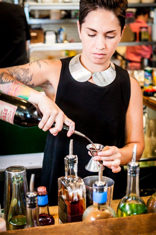 Michelle Ruocco making 'Strike 3' at Han Oak