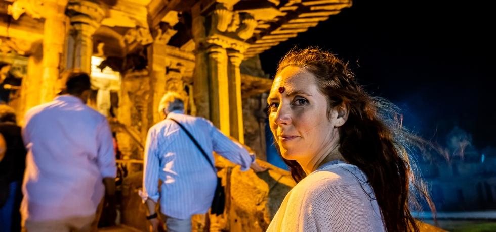 Brandy Shearer in India
