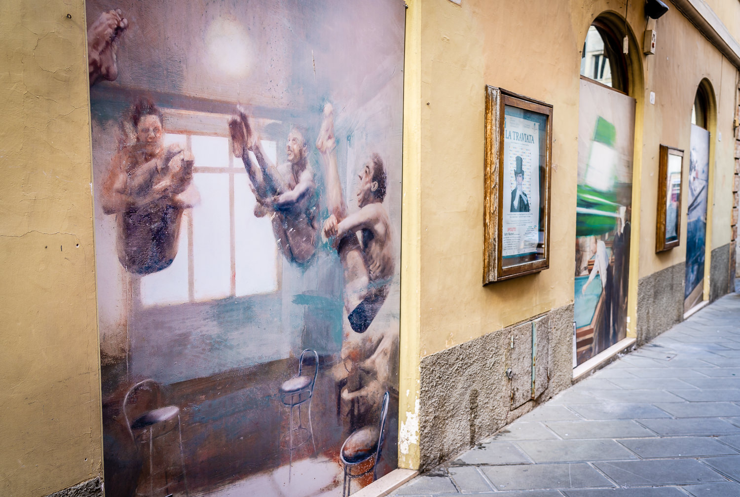 Modern Art on the Streets of Spoleto