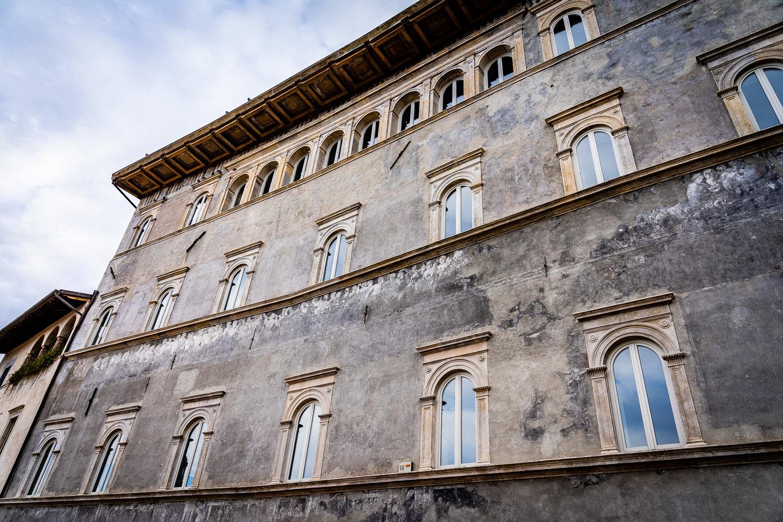 Fresco in Spoleto Italy