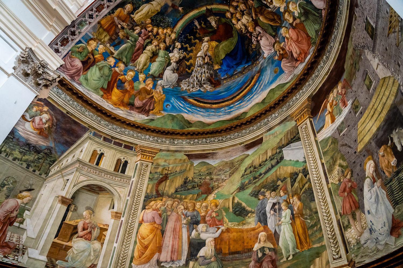 Santa Maria Assunta Cathedral in Spoleto Fresco