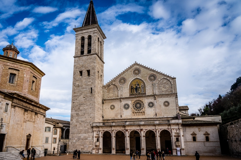 Explore Italy, Umbria, Spoleto Cathedral