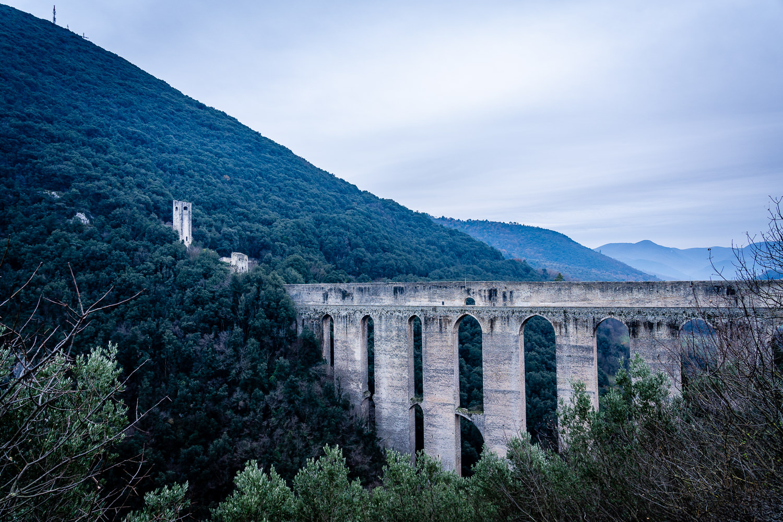 Ponte delle Torri in Spoleto Italy
