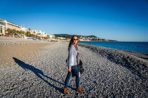 Brandy Shearer in Nice, France