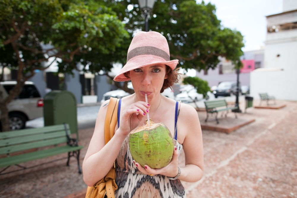 Coconut Water in Puerto Rico