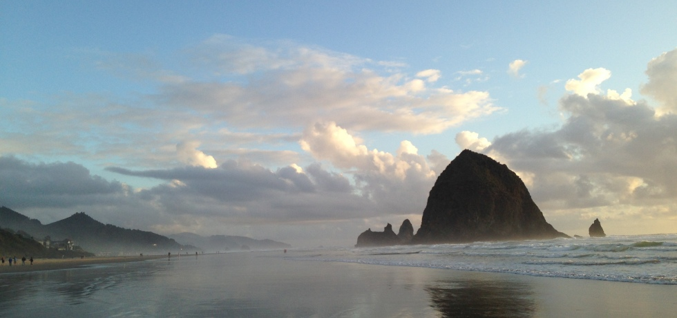 Goonies Rocks Cannon Beach Oregon