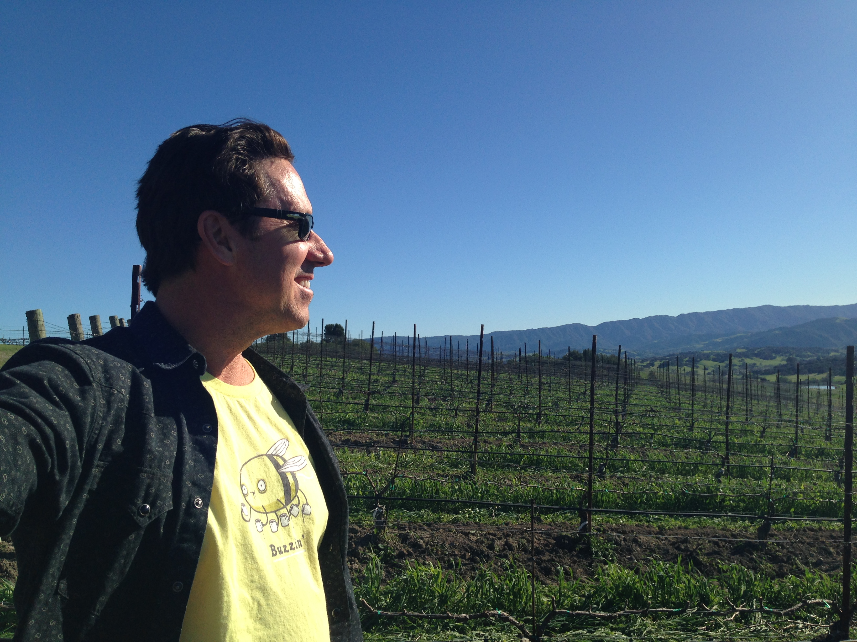 Eric Reynolds of Stagecoach Wine Tours