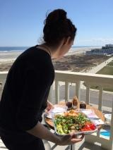 Cape May Balcony Meal