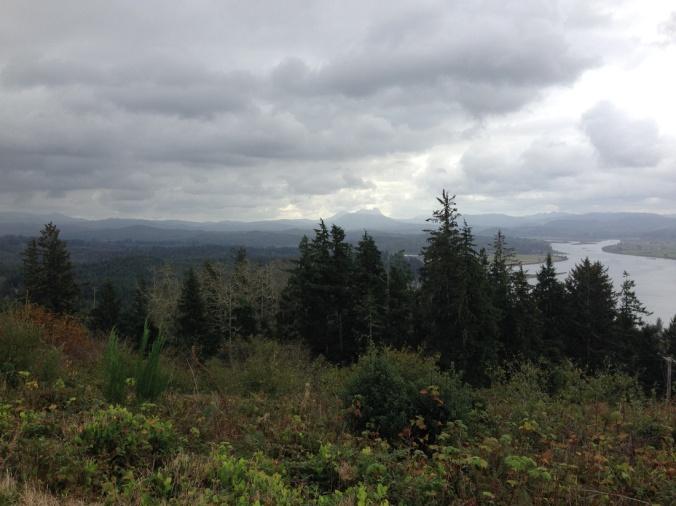 View from Coxcomb Hill Astoria Oregon
