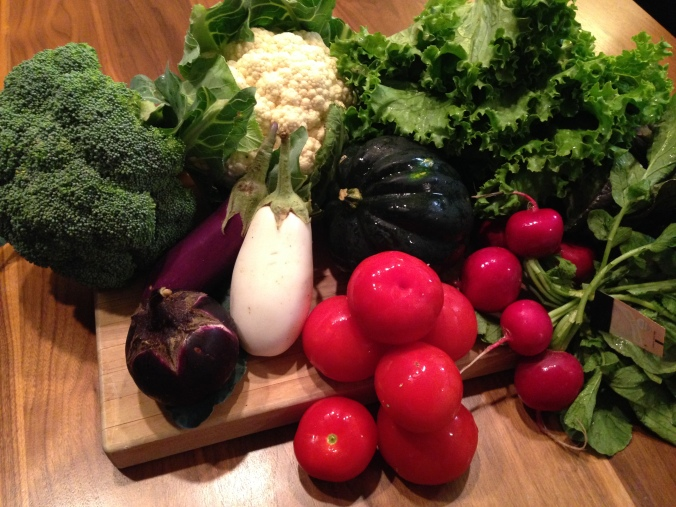 CSA Veggie Share from Lancaster Farm Fresh Cooperative