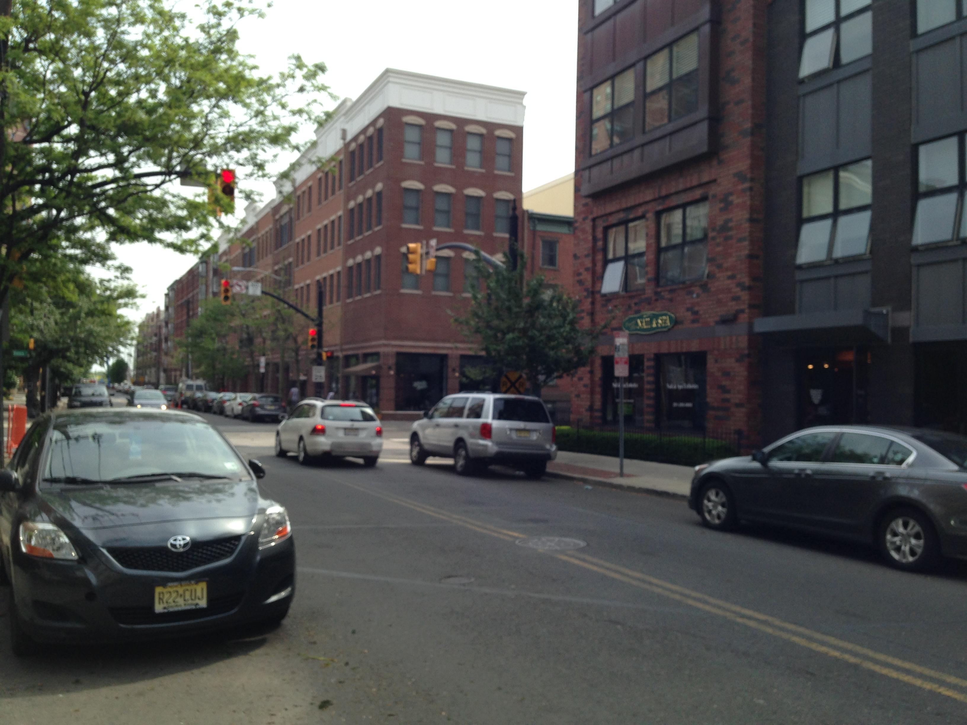 Warren Street in Jersey City