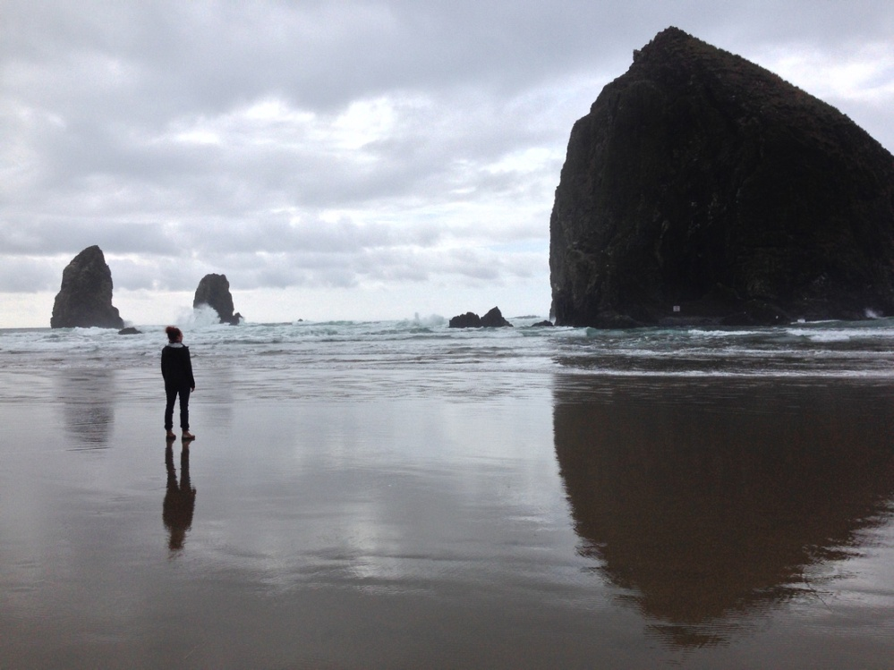 Cannon Beach Goonies Rock Walk