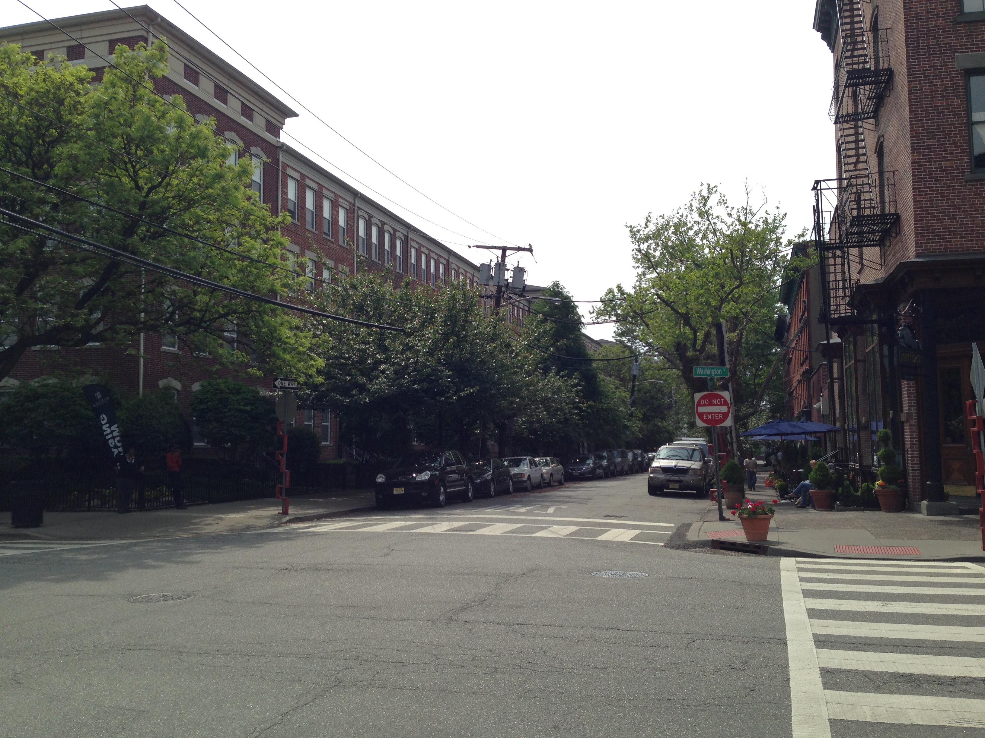 Morris Street in Jersey City