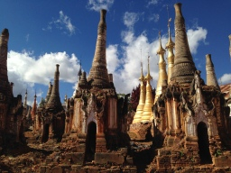 Pagoda Fields in Burma