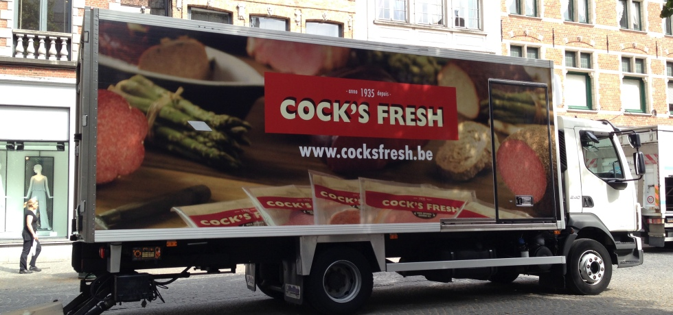 Cock's Fresh Truck in Bruges