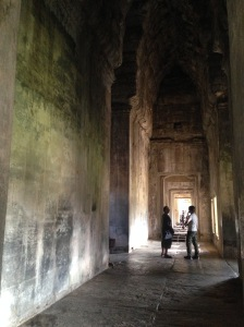 Bello in Angkor Wat