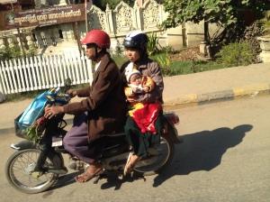Myanmars on Mopeds