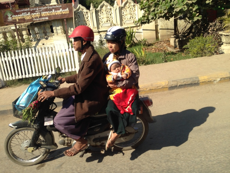 Myanmars on Mopeds