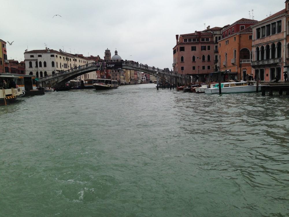 Vaporetto View of Venice