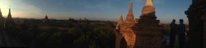 Stupa Sunset