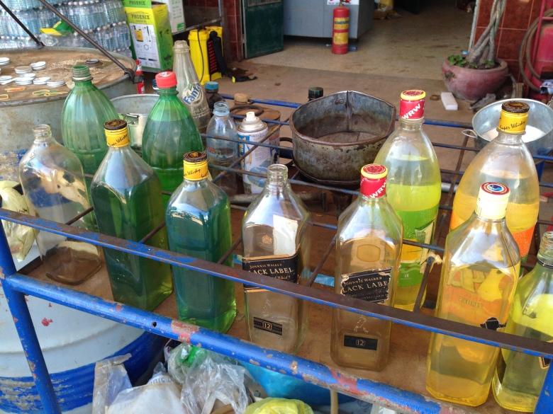 Burmese Gas Station