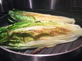 Romaine Lettuce on the Grill