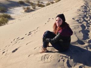Death Valley Desert Sand Dune