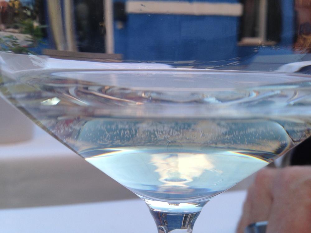 Venice Sky and White Wine