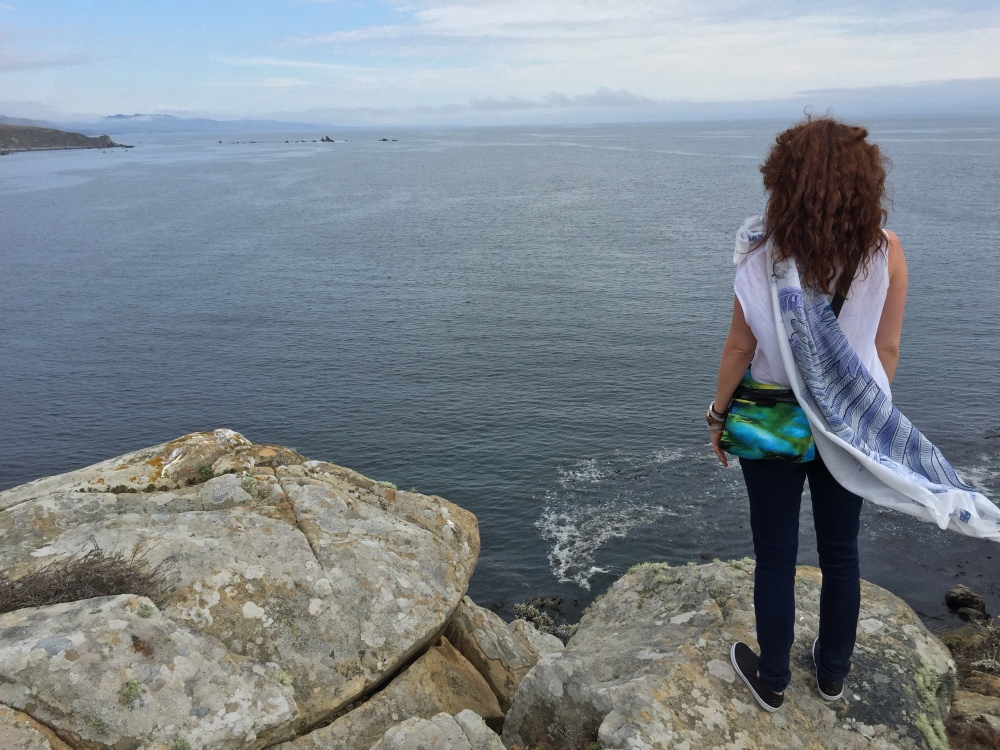 Standing on the edge in Northern California