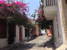Streets of Cartagena Columbia
