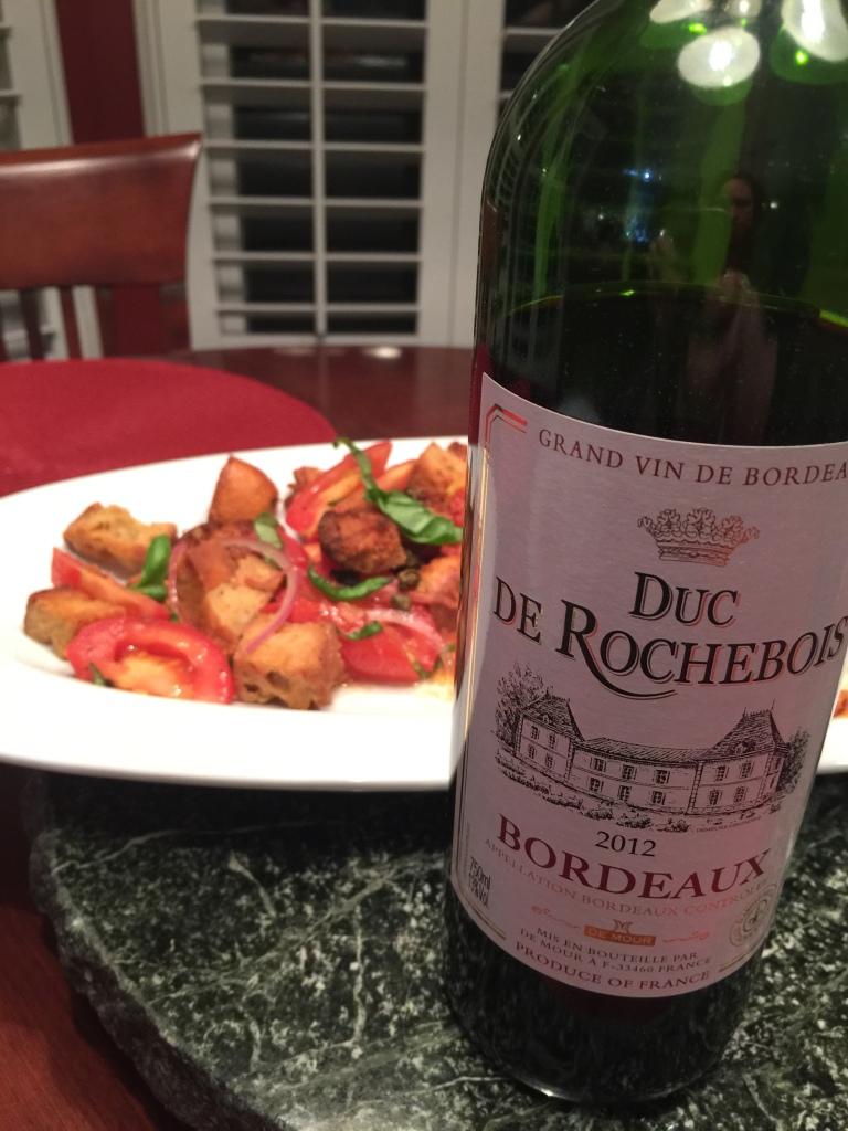 2012 Duc De Rochebois Bordeaux
